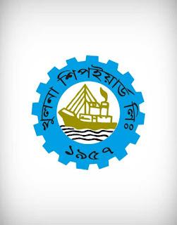 khulna shipyard vector logo, khulna, shipyard, vector, logo, boat, dock, ferry, jetty