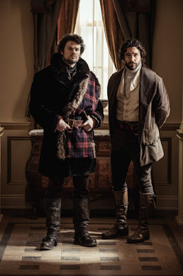 Michael Patrick and Allan Hawco in Frontier Series (3)