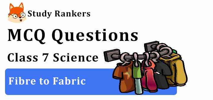 MCQ Questions for Class 7 Science: Ch 3 Fibre to Fabric