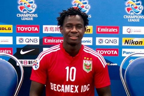 Cầu thủ Dieng Abass hiện đang là cầu thủ chơi rất xuất sắc
