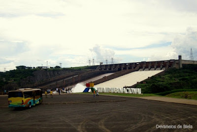 Visita na Usina de Itaipu - Foz