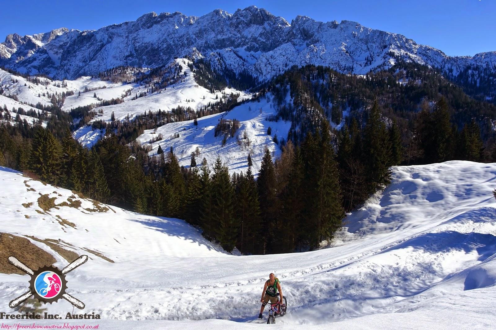 Winter Biketour Wilder Kaiser