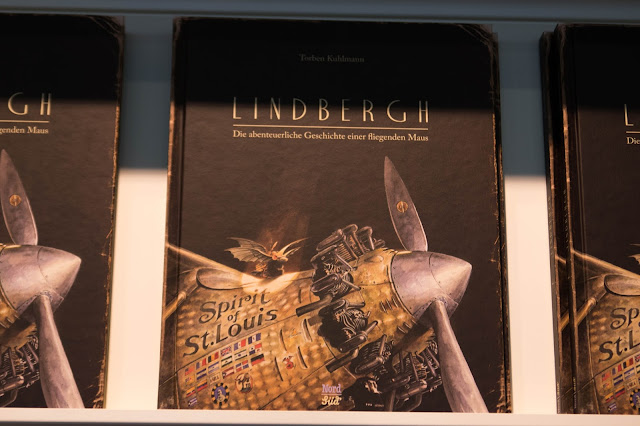 Messe Frankfurt, Buchmesse, 2016, fbm 2016, Torben Kuhlmann, Lindbergh