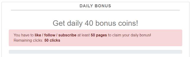 Bonus diario Damefans