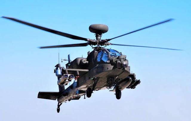 AH-64 được trang bị tên lửa Spike NLOS