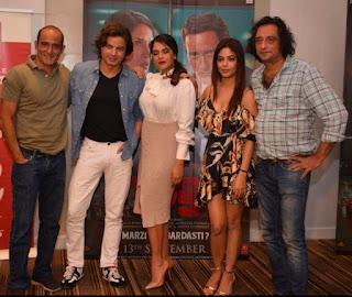 सेक्शन 375' की स्टारकास्ट ने दिल्ली में किया फिल्म का प्रमोशन