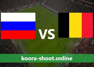 نتيجة مباراة بلجيكا وروسيا بتاريخ 12/06/2021 يورو 2020