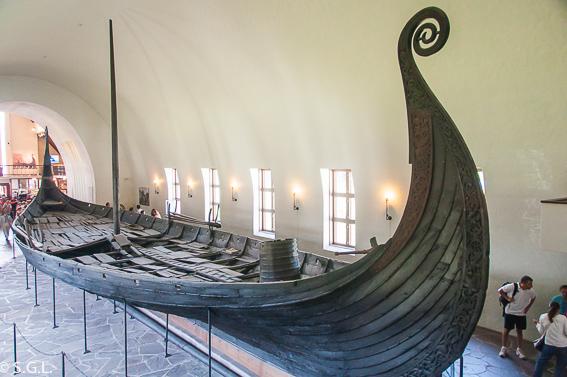 Museo Vikingo en la isla de los museos Oslo, Bygdoy