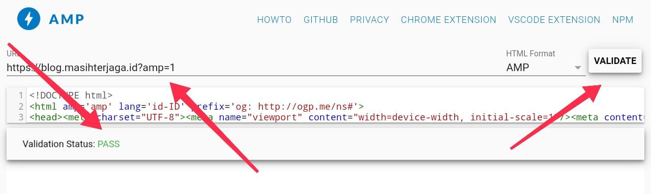 Cara Memperbaiki Error Di Template Blogger AMP