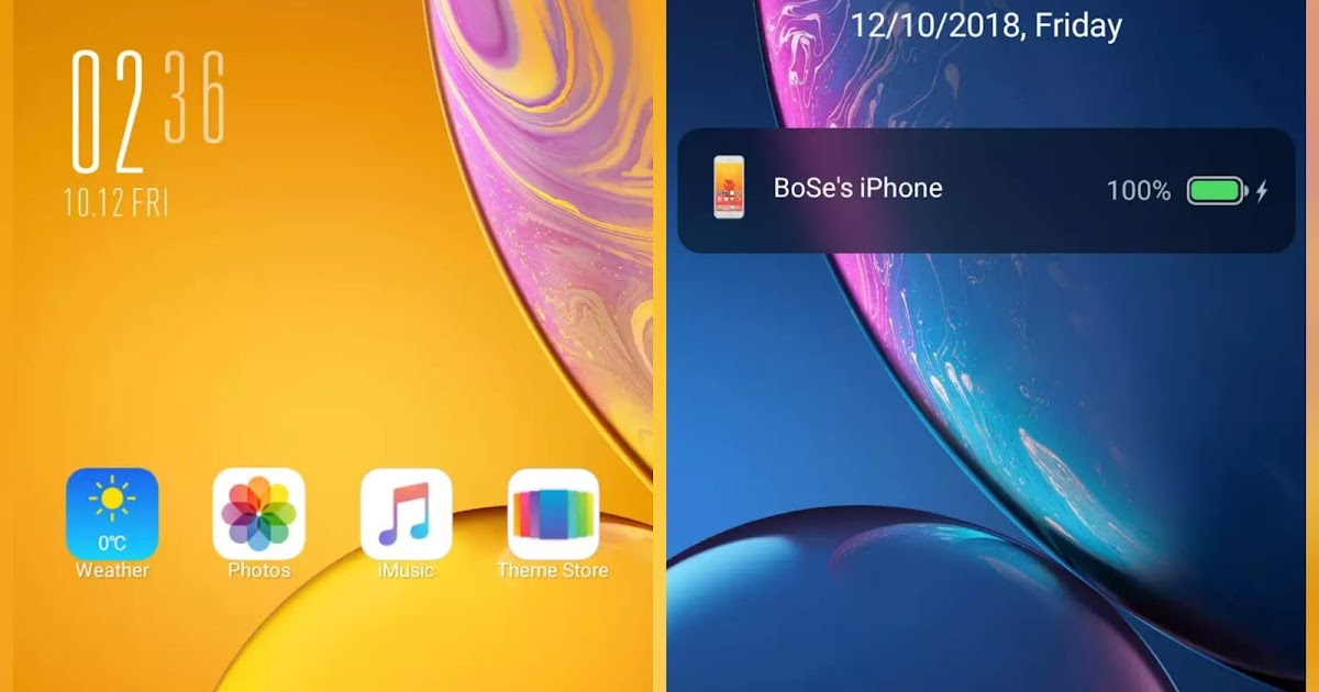 iOS BoSe v10 MIUI 10 Theme Download ~ HARSHIT TECHNICAL