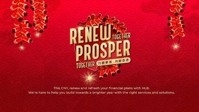 Hong Leong Melancarkan Kempen  'Renew Together, Prosper Together' Sempena Tahun Baru Cina 2021