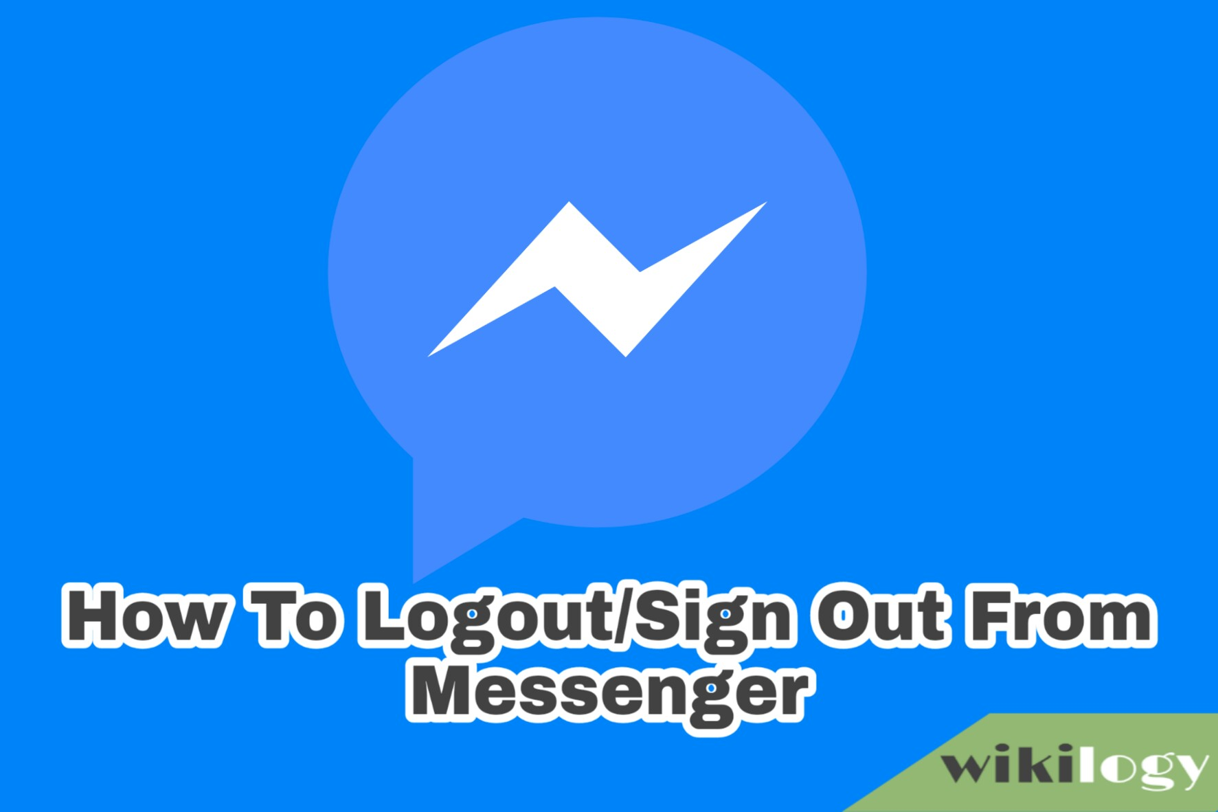 how to logout from messenger, sign out from messenger