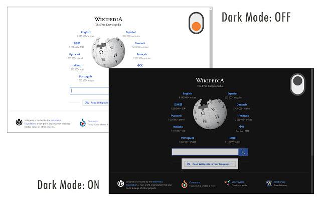 الوضع الليلي على جوجل كروم Dark Mode