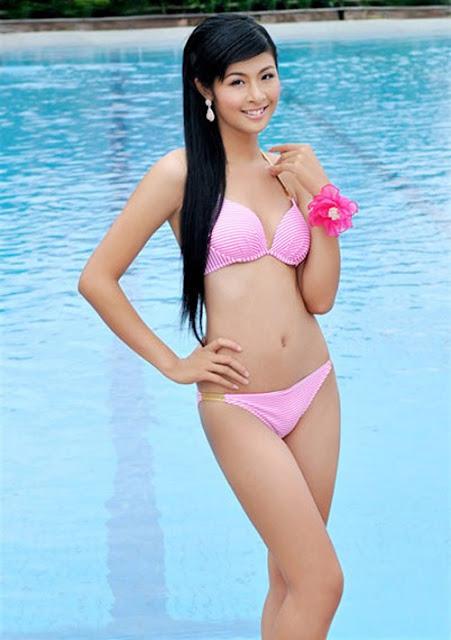 Hiếm hoi thấy Ngọc Hân diện áo tắm khoe body sau 9 năm đăng quang Hoa hậu Việt Nam
