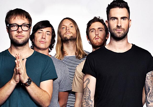 Maroon 5 vai incluir o Brasil na sua lista de shows em 2020
