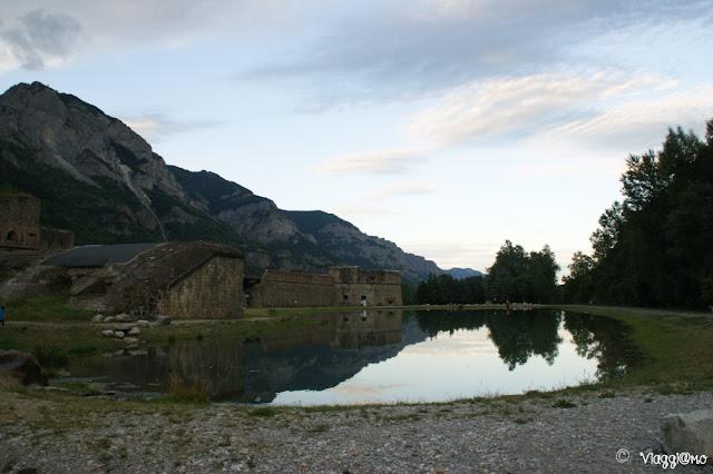 Il lago artificiale di Vinadio