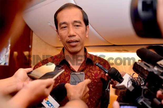 gresik24jam - Pesan Jokowi ke Kiai di Gresik Mulai dari Soal PKI hingga Wakaf