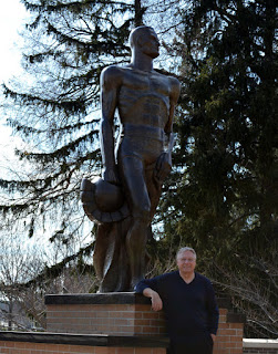 Me and Sparty hanging out together.