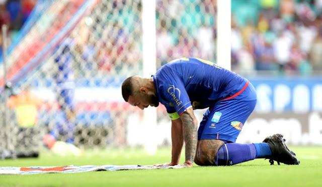 Resultado de imagem para Bahia , perde para o Sampaio Corrêa e cai na 1ª fase da Copa do Nordeste
