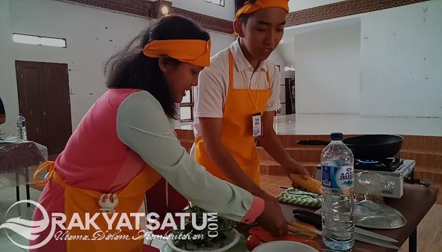 Lomba Masak Tingkat Pelajar di Toraja, Sajikan Makanan Sehat dan Bergizi