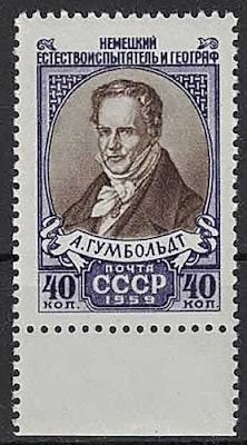 Russia Alexander von Humboldt