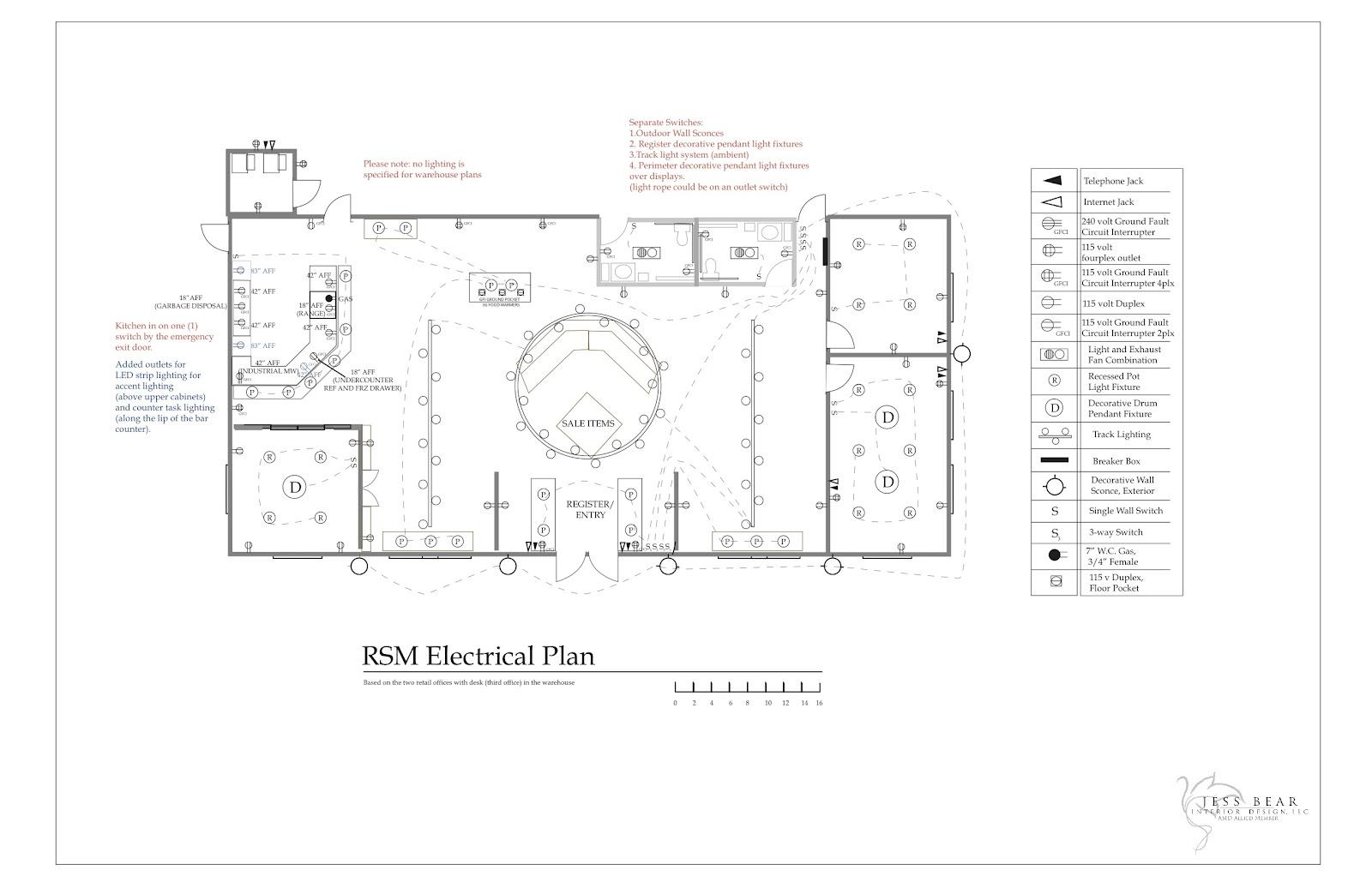 Commercial Jess Bear Interior Design