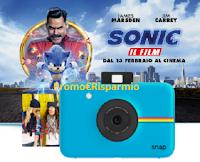 Logo Concorso ''Vinci con Sonic'': gratis in palio Polaroid Snap Instant Print