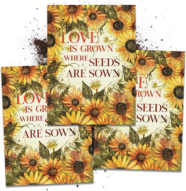 sunflower seeds wedding favors