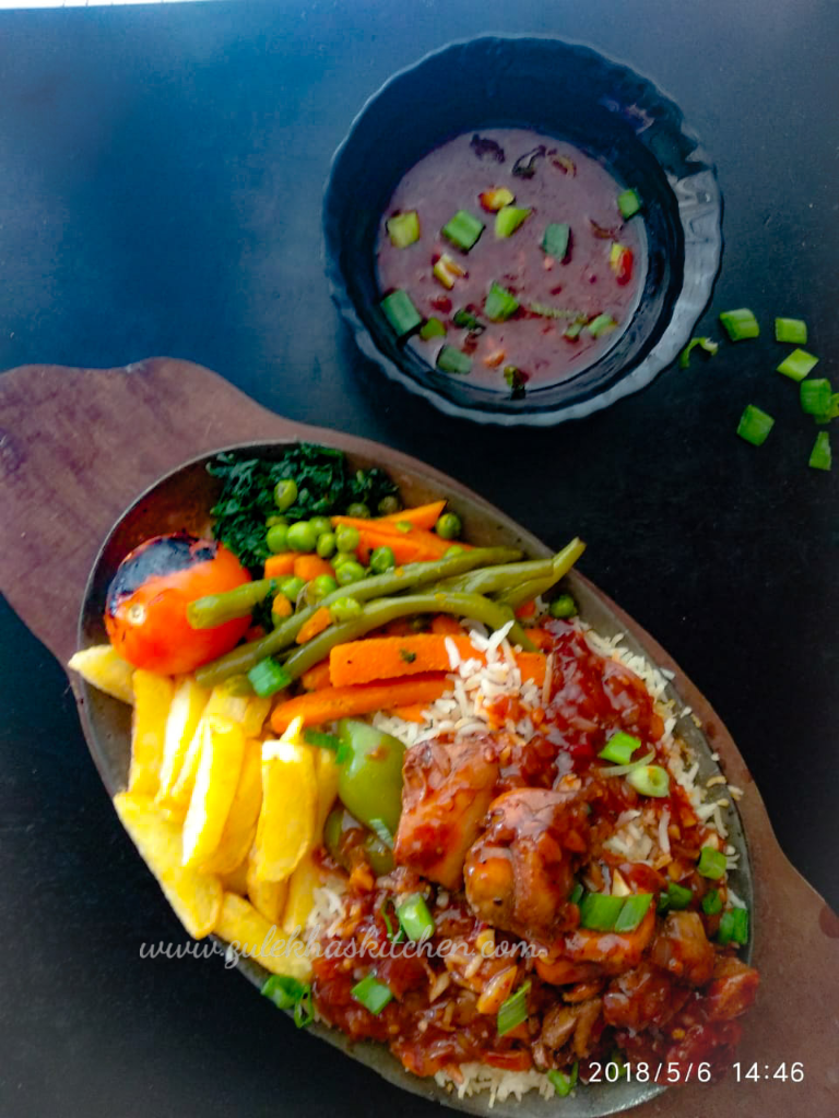 Chicken Sizzler recipe   Best Chicken sizzler recipe