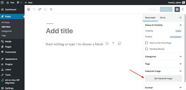 Featured Image là gì? Thêm ảnh Featured Image trên WordPress