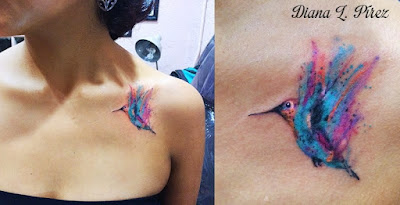Hummingbird Tattoos Ideas