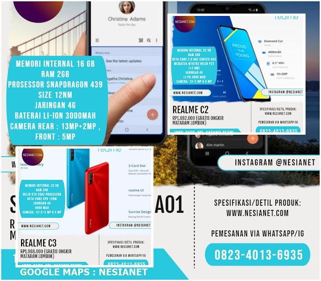 Jual HP Smartphone Android Terbaik 100% Baru, Ori, Bergaransi Resmi Mataram Lombok