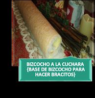 BIZCOCHO A LA CUCHARA