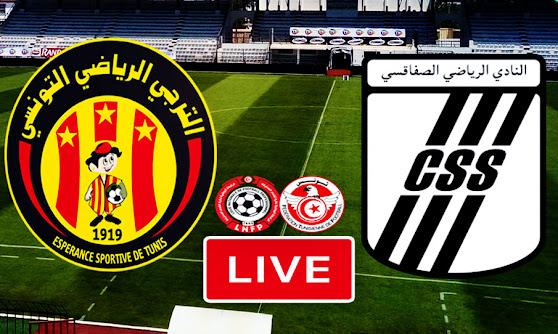 Ligue 1 Tunisie Match CS Sfaxien vs Taraji ES Tunis Live Stream