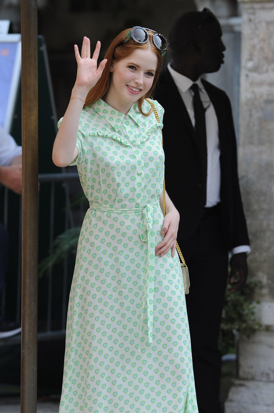 Full HD Photos of Ellie Bamber Arrives At Lido at Venice Film Festival, In Venice