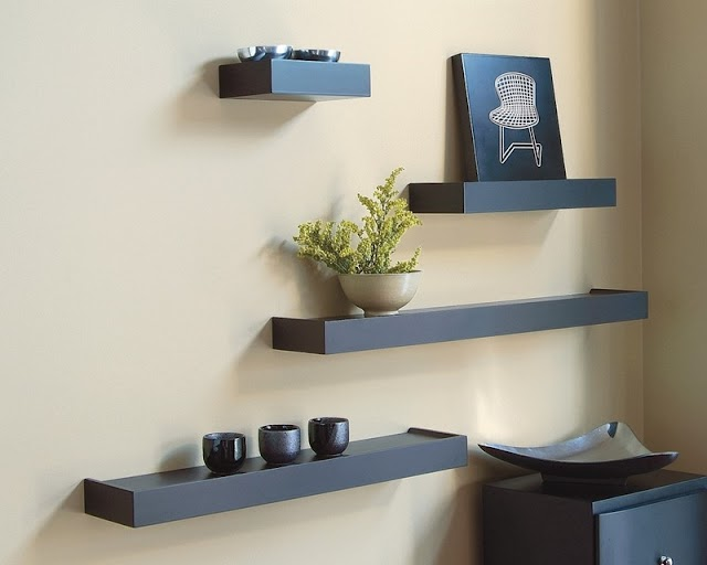 Modern wall shelves design ideas