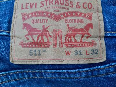 Levi's Back Leather Patch Men