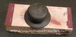 самодельный брусок для шлифовки дерева
