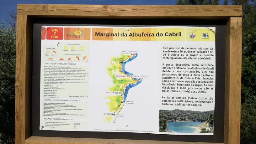 Percurso Pedestre marginal da Albufeira do Cabril