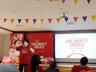 Hari Ibu dengan Inspirasi Shenergy Kreasi oleh Kementrian Pemberdayaan Perempuan dan Perlindungan Anak