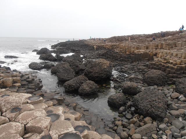 Las formaciones rocosas de la Calzada de los Gigantes