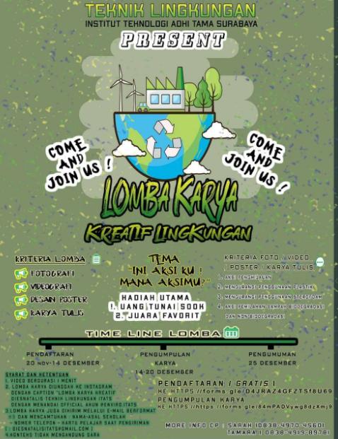 Lomba Karya Tulis Ilmiah Nasional 2019 di ITATS
