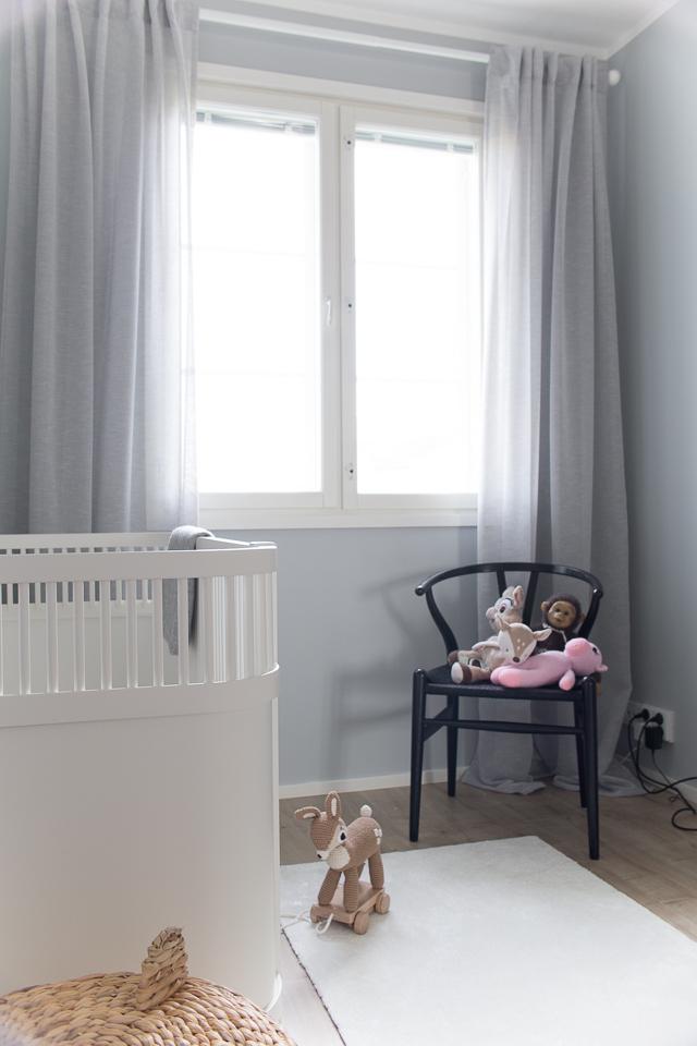 Villa H, lastenhuone, Sebra Interior, Y-tuoli, sisustus
