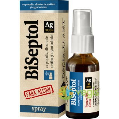 BiSeptol cu Albastru de Metilen si Argint Coloidal Spray 20ml DACIA PLANT