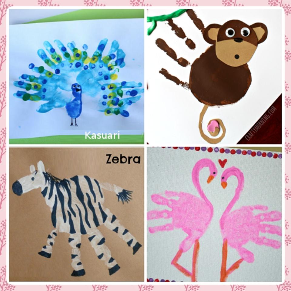 Parenting Bunda Erysha Cara Membuat Dan Bermain Finger Painting