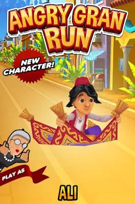 تحميل لعبة السباق والجري Angry Gran Run! النسخة المهكرة