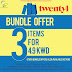Twenty4 Fashion Kuwait - Bundle Offer