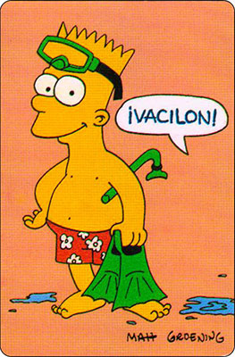 Bollycao The Simpsons Cromo 59