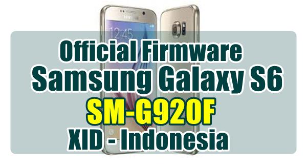 Firmware Samsung Galaxy S6 SM-G920F XID Indonesia