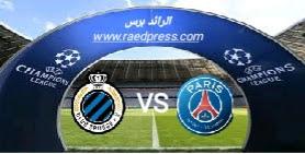 مباراة باريس سان جرمان وكلوب بروج
